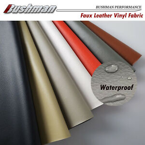 Synthetic Leather Fabric Recondition Vinyl DIY Handmade Craft Material Easy Cut