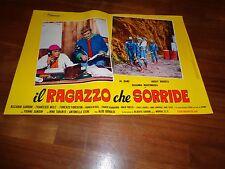 Fotobusta,, IL RAGAZZO CHE SORRIDE AL BANO CARRISI ROCKY ROBERTS MARTINKOVA 1969