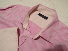 """Ted Baker Mens Shirt 🌍 Size 16"""" (44"""" Chest) 🌎 RRP £ 110+ 📮 Floral Jacquard"""