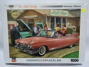 Eurographics 60955 The Pink Caddy 1000 pce jigsaw