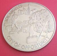 $ 1 DOLLAR LOS ANGELES BICENTENNIAL BIRTHDAY 1981 . CITY OF OPPORTUNITY .