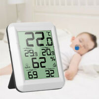 ThermoPro TP50 Digital LCDHygrometer Indoor Thermometer Humidity Monitor w XCV