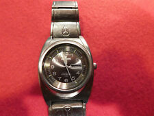 Nixon You Know the Don. 100M. All Stainless Steel Mens Watch.