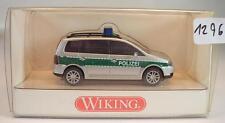 Wiking 1/87 nº 104 28 32 VW Volkswagen Touran autobús policía OVP #1296