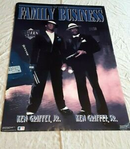 Ken Griffey Sr. And Ken Griffey Jr. The Family Business Poster 22x35
