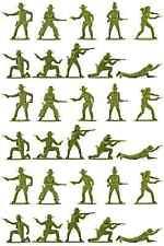 Airfix Cowboys - set of 30 figures no box - 1980s Production - mint condition
