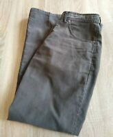 Alberto Men's Jeans Pants Tim 4020 Gray Size 48 EU USA Sz 32
