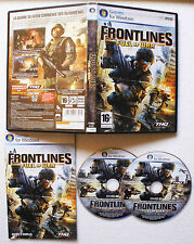 FRONTLINES FUEL OF WAR sur PC