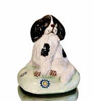 Vintage Signed Basil Matthews Spaniel Figurine