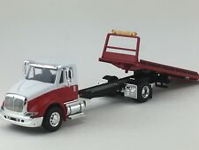 1/64 SPECCAST RED/WHITE INTERNATIONAL 8600 ROLLBACK TOW TRUCK