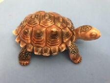 Wade Porcelain England Turtle Tortoise Removable Shell Trinket Box Large 4�