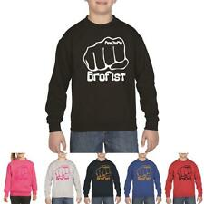 Bro Fist Youth Stephano Youtuber Comedian PewDiePie Funny Unisex Sweat Shirt