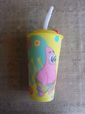 Bicchiere SpongeBob con coperchio e cannuccia - nuovo