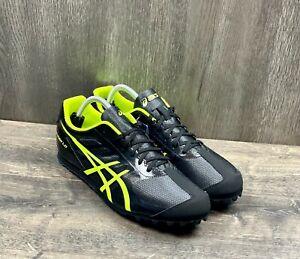Asics Men's Hyper LD 5 Track Shoes Black Volt F461217