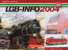 "LGB ""New Items"" Catalogue - 2004"