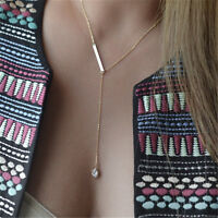 Fashion Charm Jewelry Crystal Pendant Choker Chunky Statement Bib Chain Necklace