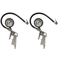 0-220psi Car Tire Pressure Gauge Pointer Tyre Air Pressure Inflator Gauge #gib