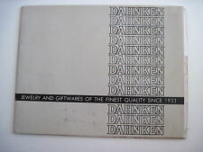 "Vintage ""Dahnken Jewelry & Giftwares Catalog w/ Lots of Nostalgic Items Listed *"