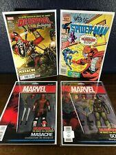 1st Appearance Lot MASACRE, SOLO & HUMBUG Web of SpiderMan 19 Deadpool NM 98 set