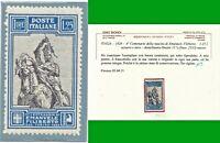 ITALY REGNO 1928 4° CENT NASCITA E. FILIBERTO 1,25 n. 235/I MNH** con CERT