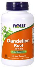 Now Foods Dandelion Root 500 MG 100 Veg Capsules