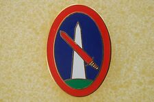 US USA Army Military District Washington Military Hat Lapel Pin