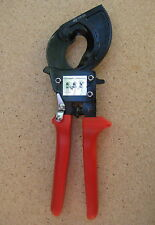 Pro Industrial Ratchet Cable Cutter Cuts upto 240mm2