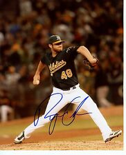 RYAN  COOK    #48  OAKLAND  A'S  SIGNED AUTOGRAPHED  8X10  PHOTO