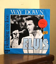 Elvis Presley - Way Down / Pledging my love - RCA PB 0998 - Stampa Francese