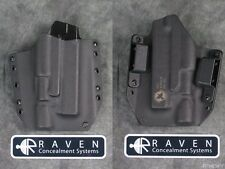 RAVEN CONCEALMENT SHORT SHIELD HOLSTER for GLOCK 20 21 SF SUREFIRE X300 ULTRA B
