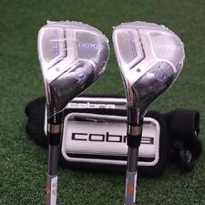 Cobra Golf MAX OS Offset Hybrid 3h & 4h LEFT HAND SET - Graphite Stiff -NEW