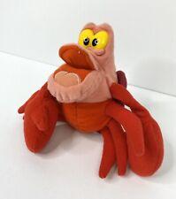 Disney Plush Beanie Toy Sebastian Little Mermaid Crab