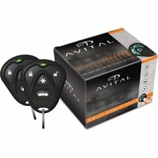 Avital 3100Lx 3-Channel Keyless Entry Car Alarm with Remotes and Failsafe