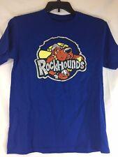 Midland RockHounds Baseball Majestic T-Shirt Youth Large Blue Oakland Athletics