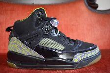 7145d2579472 NEW Nike Air Jordan Spizike Size 7.5 Black Citron 315371-031 Retro 3 4 5