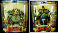 Legends of The Bladehunters Ogre & Tyr 2 Figure Set Amricons 2008 McFarlane Toys