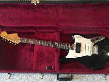 Fender Marauder Offset Guitar Modern Player Black Jazzmaster Bridge Pup with HSC