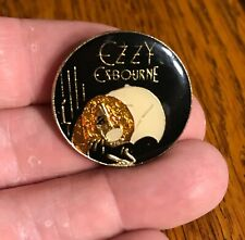 Ozzy Osbourne/ Pin-Back Button/ Bark at the Moon/ Jake E Lee/ Black Sabbath/ 80s
