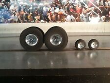 "JDS Tractor Rear Tires 2.4"" x 1 1/4"" And Tractor Fronts!!! Slot Car 1/24!!!"