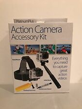 SUNPAK GO PRO Action Camera Accessory Kit Head Mount Selfie Wand Float Grip NEW!