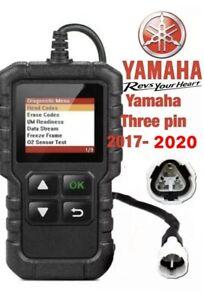 Yamaha  N-MAX 125 FI, OBD2 fault code scanner diagnostic tool 2017-2020