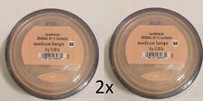 PACK OF 2  Bare Minerals Escentuals SPF 15 Foundation MEDIUM BEIGE - N20 8g XL