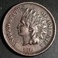 1872 INDIAN HEAD CENT With LIBERTY & DIAMONDS - XF EF Details