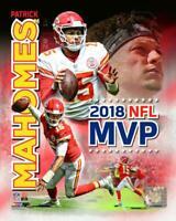 Kansas City Chiefs Patrick Mahomes NFL MVP 11x14 Photo Team picture poster