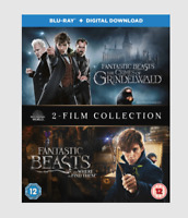 Fantastic Beasts: 2-Film Collection Blu-ray [Region Free] Adventure Movie - NEW