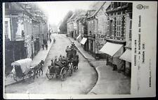 FRANCE ~ 1900's GERMAN SOLDIERS ENTERING FRENCH CITY ~ WWI