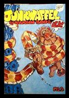 JUNKWAFFEL #3, 3rd PRINTING, 1972, LAST GASP, VAUGHN BODÉ, UNDERGROUND $2.50 Cv