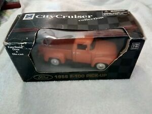 City Cruiser Ford 1956 Ford F-100 pickup 1/32 Scale Die Cast