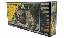 WOODLAND SCENICS C1215 set Pigmenti liquidi colori terra diorama ferroviario H0