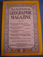 National Geographic - May 1955 - Grand Canyon - Bruges - Kayak Nile - Arizona
